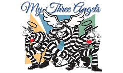 "Announcing the cast of ""My Three Angels"""